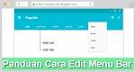 Tutorial Cara Edit Menu Navigation Bar Di Blogger