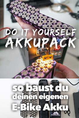 E-Bike Akku bauen Anleitung E-Bike Akku selbst bauen – Dein DIY Li-Ion Power-Akku aus 18650 Zellen  Akku löten  Akku-schweißen  DIY-Akku-Pack 21