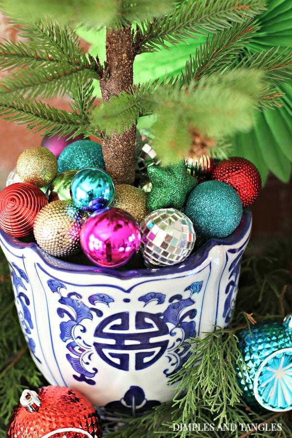 mini christmas ornaments, artificial christmas tree decorations