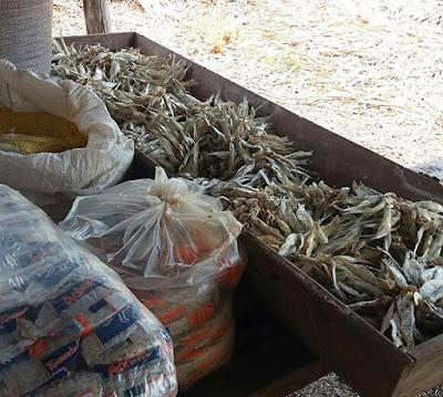 Alimentação dos trabalhadores escravos resgatados em Vargem Grande
