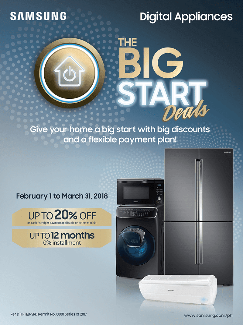 Samsung announces big discounts on select Digital Appliances