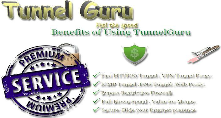 Free Unlimited Tunnelguru Vpn Premium Account 2018 For Pc - DMZ Networks