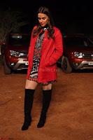 Neha Dhupia in Lulu and sky dress and Zara jacket and Stuartz wietzmen boots(1) ~ .jpeg