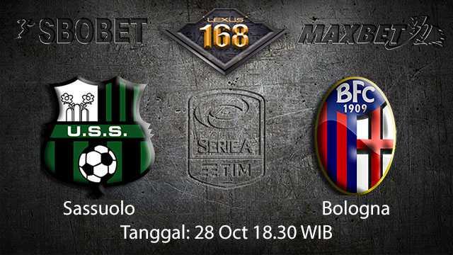 Prediksi Bola Jitu Sassuolo vs Bologna 28 October 2018 ( Italian Serie A )