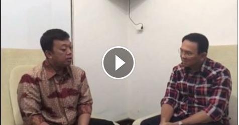 VIDEO: Ahok Diingatkan Nusron Wahid Tentang Kondisi Saat Ini, Begini Isi Percakapannya