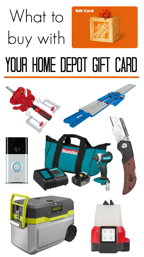 What to buy with your Home Depot gift card Tools and gadgets for every price range