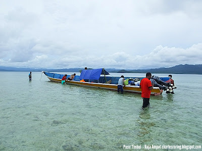 snorkeling and island hopping tour in Raja Ampat with Charles Roring as your guide