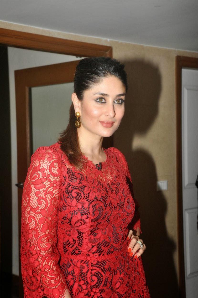 Kareena Kapoor Photos In Red Dress