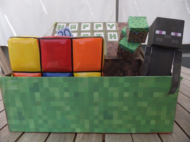 Minecraft Geburtstagsgeschenk