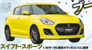 次期スイフトスポーツ 新型車 最新画像