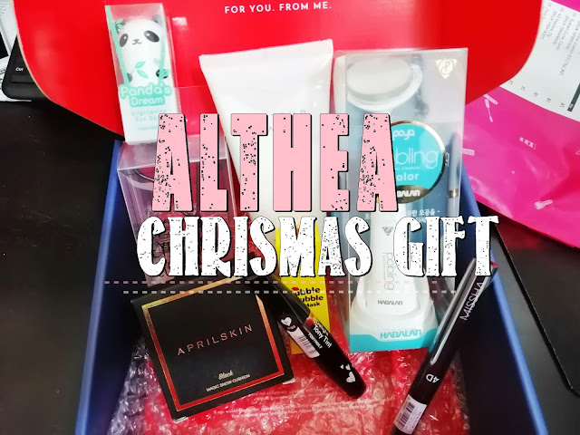 Unboxing Althea Chrismas Gift