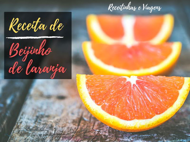 Beijinho de laranja de colher #Receitas #Laranja