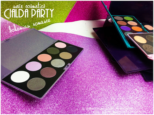 bohemian romance neve cosmetics cialda party review recensione makeup palette