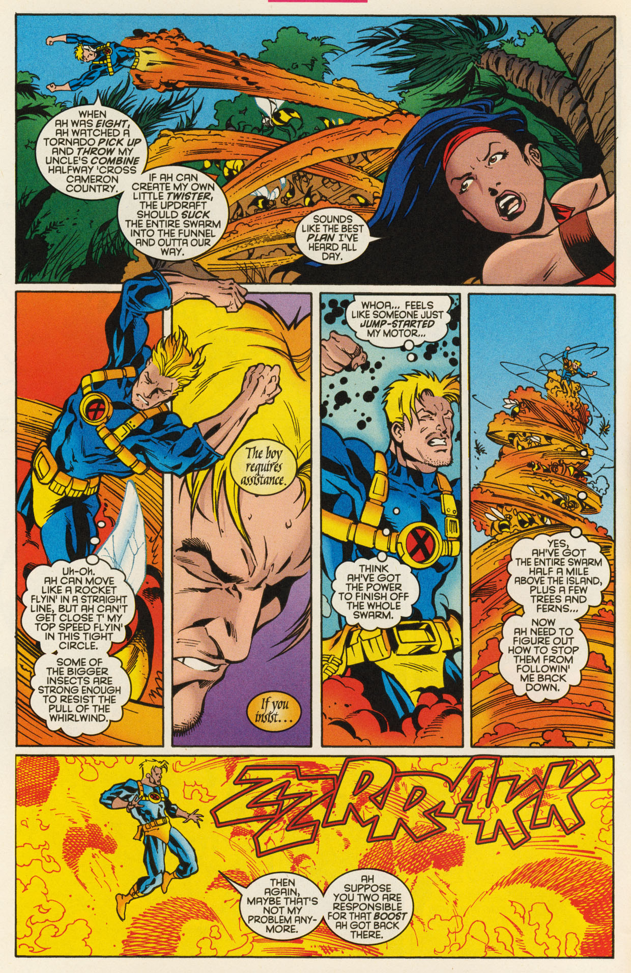 Read online X-Force (1991) comic -  Issue #93 - 6