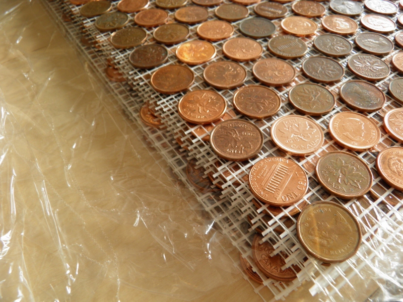 Diy Extreme The Penny Wall
