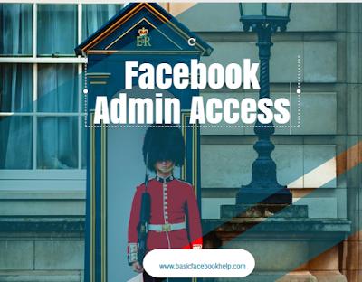 Facebook Admin Access