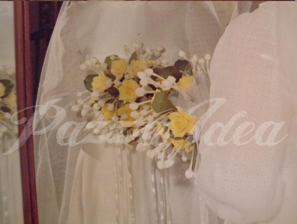 Bouquet Sposa Anni 70.Pazza Idea Patrizia E Il Suo Abito Da Sposa Del 1974
