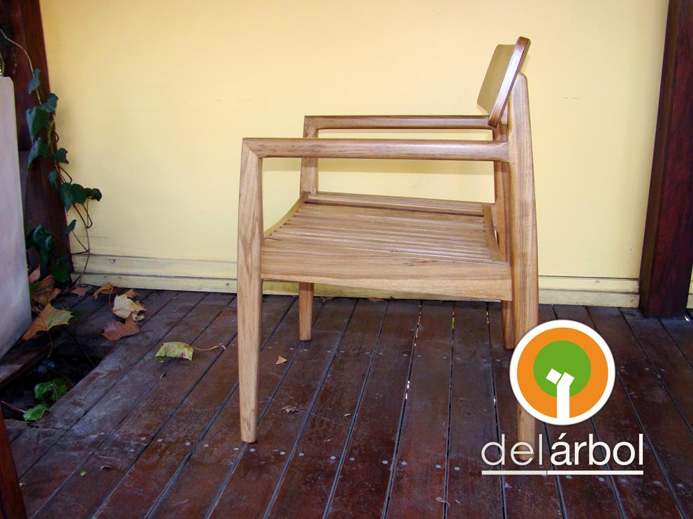 Del arbol f brica de muebles de madera silla butaca de for Fabrica de muebles de madera
