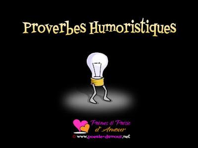 Humour et blagues en proverbes