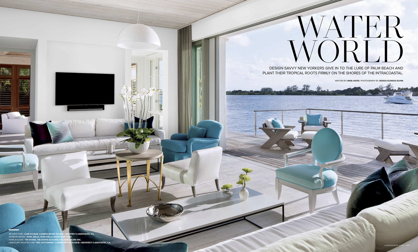 Water In Palm Beach Florida Clems Work Never Ceases To Amaze Me With Its Warmth Clean Lines And Seamless Indoor Outdoor Living