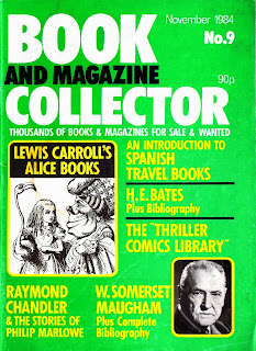 cover of Book and Magazine Collector November 1984, no. 9