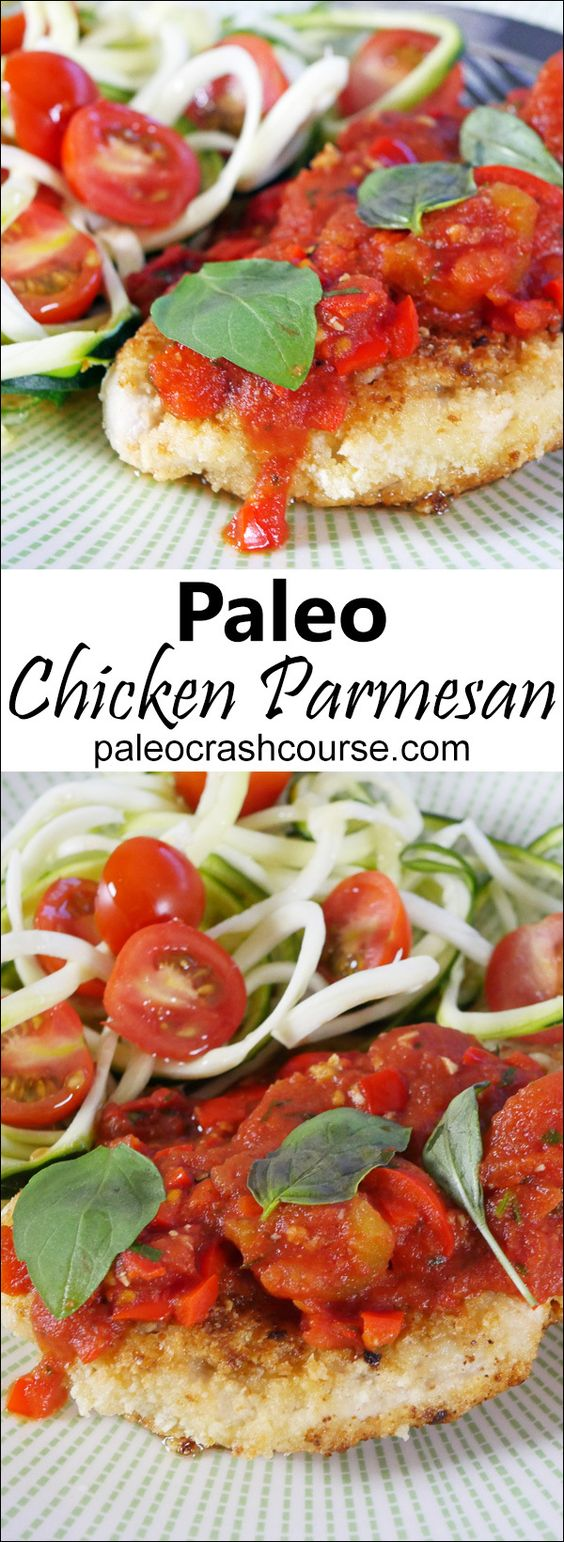 Amazing Homemade Paleo Chicken Parmesan