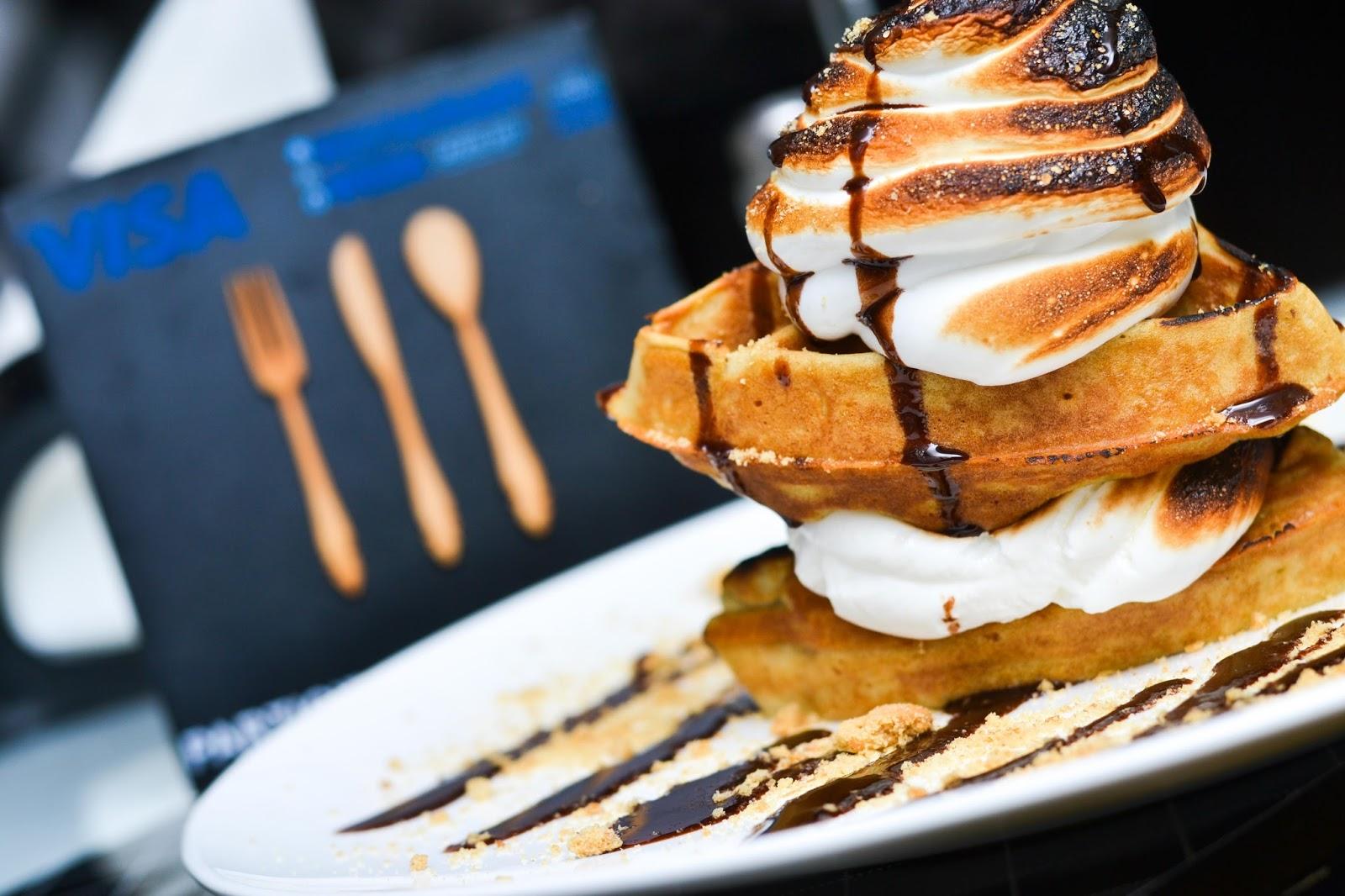 Buttermilk waffle in Lagos