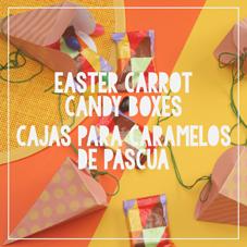 Easter Carrot Candy Boxes-Cajas para Caramelos de Pacua