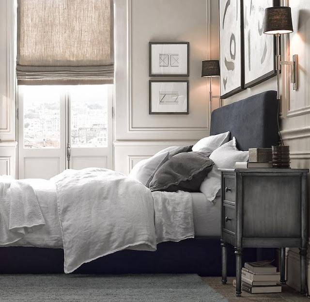 Restoration Hardware Apartment: Guest Room Makeover - ORC Week 2