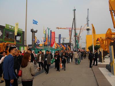 Bauma Exhibition in Shanghai 1