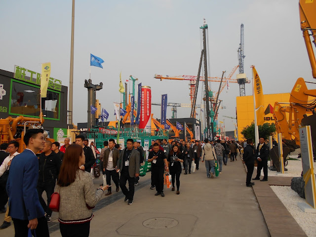Bauma Exhibition in Shanghai 1