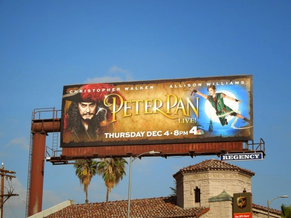 Peter Pan billboard