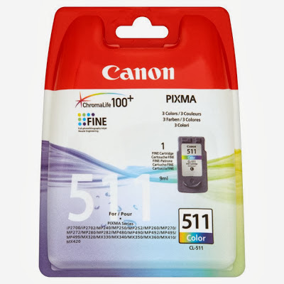 ink cartridge Canon CL-511 tricolor