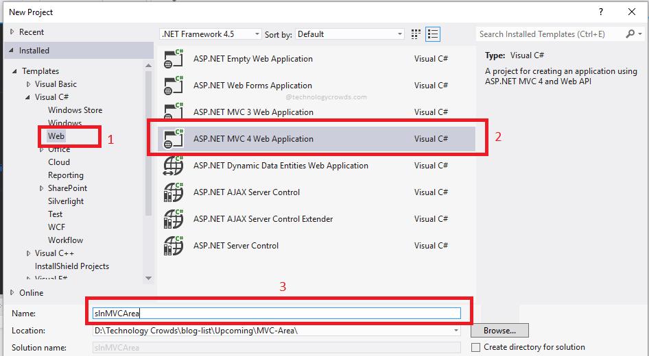 MVC Areas: Organizing an Application using Areas - ASP NET | C#