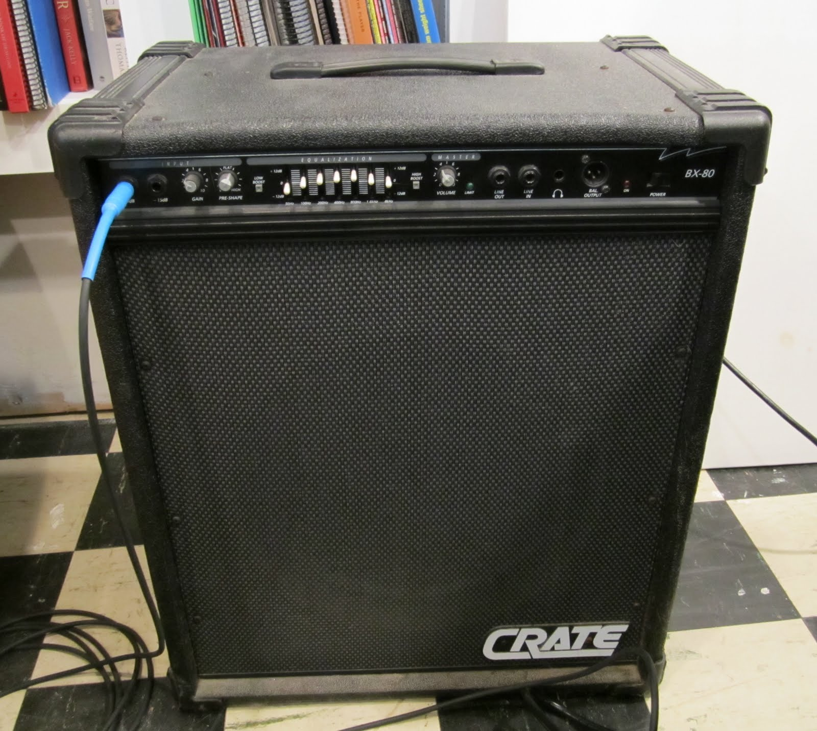 crate bx 80 bx80 bass amplifier combo vinyl amp cover p n crat105. Black Bedroom Furniture Sets. Home Design Ideas