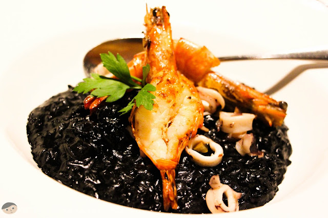 Tosca's Risotto Nero (Venetian Black Rice with Squid Ink)