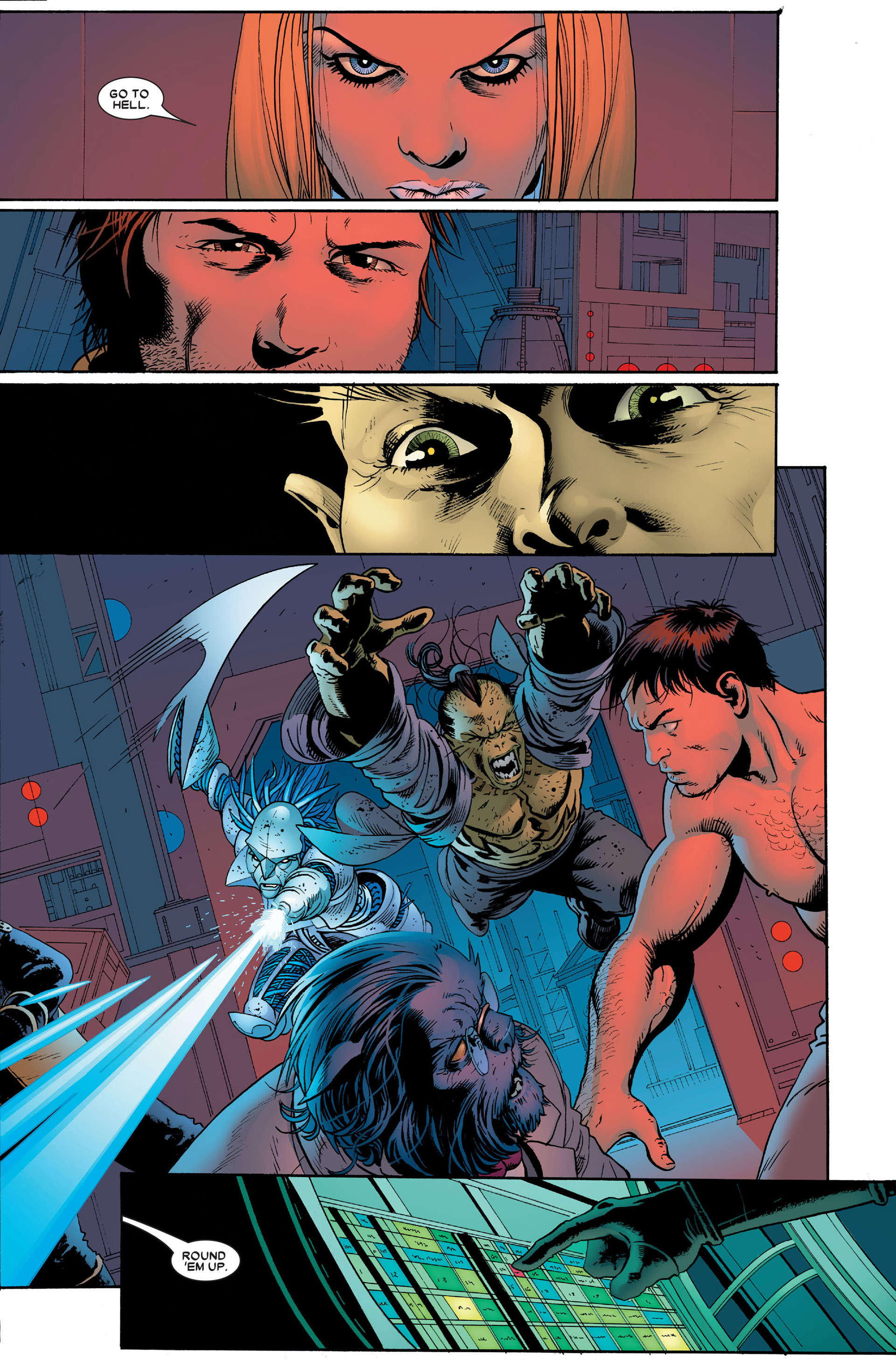 Read online Astonishing X-Men (2004) comic -  Issue #18 - 22