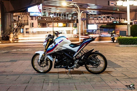 Modifikasi yamaha xabre supermoto