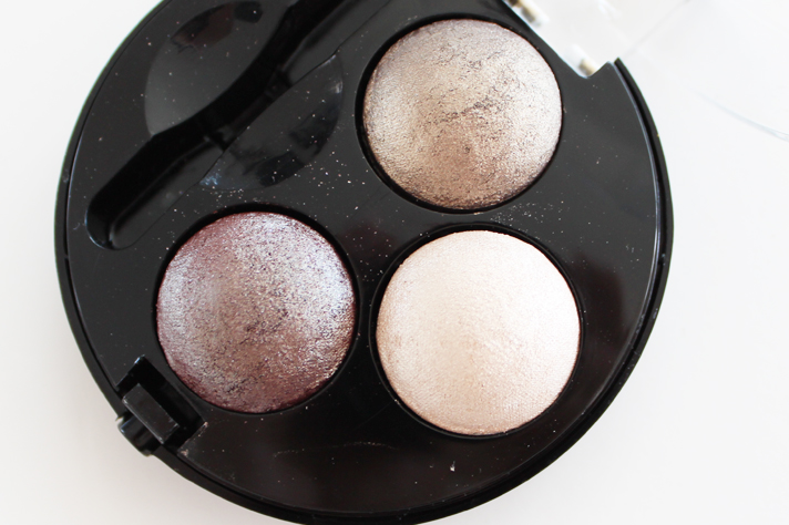 MUA [MAKEUP ACADEMY] // Baked Trio Eyeshadow in Innocence | Review + Swatches - CassandraMyee