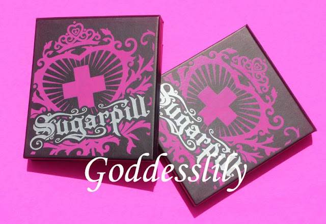Sugarpill Sweetheart and Burning Heart Palettes