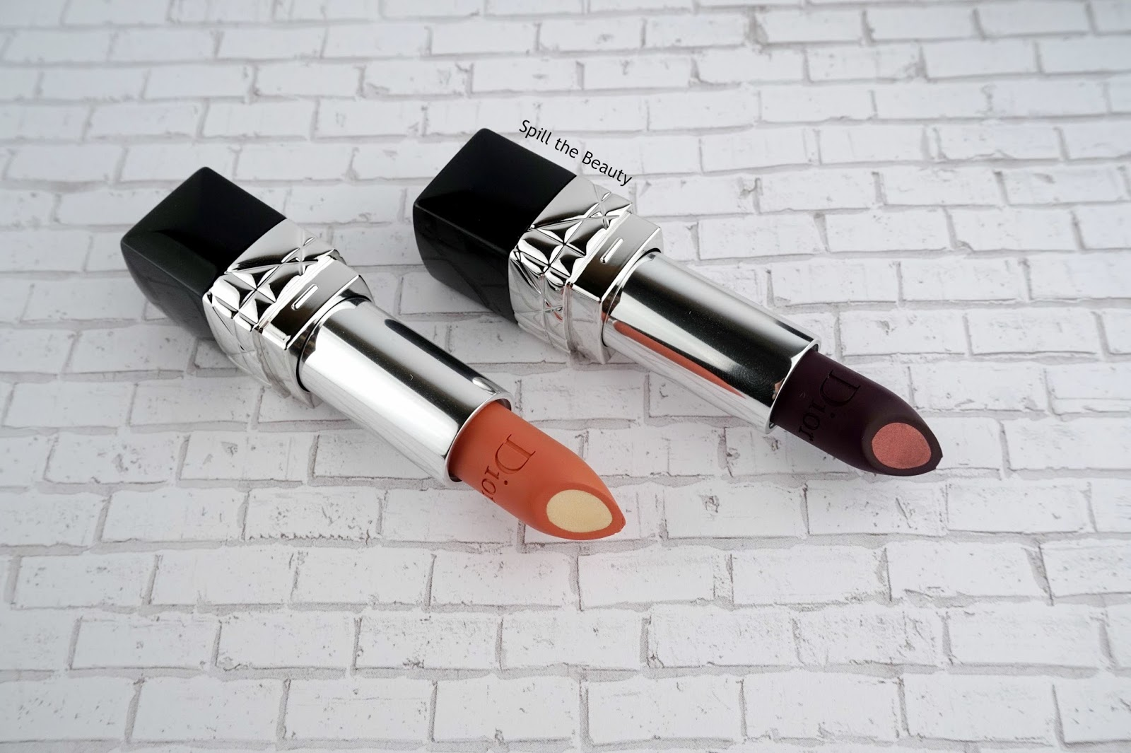 Nude Look Rouge Dior Double Rouge Lipstick - Review, Swatches, And Looks - Spill The Beauty