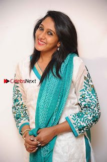 Kannada Actress Nikhila Stills in White Embroidery Salwar Kameez at Srinivasa Kalyana Movie Press Meet  0009.jpg