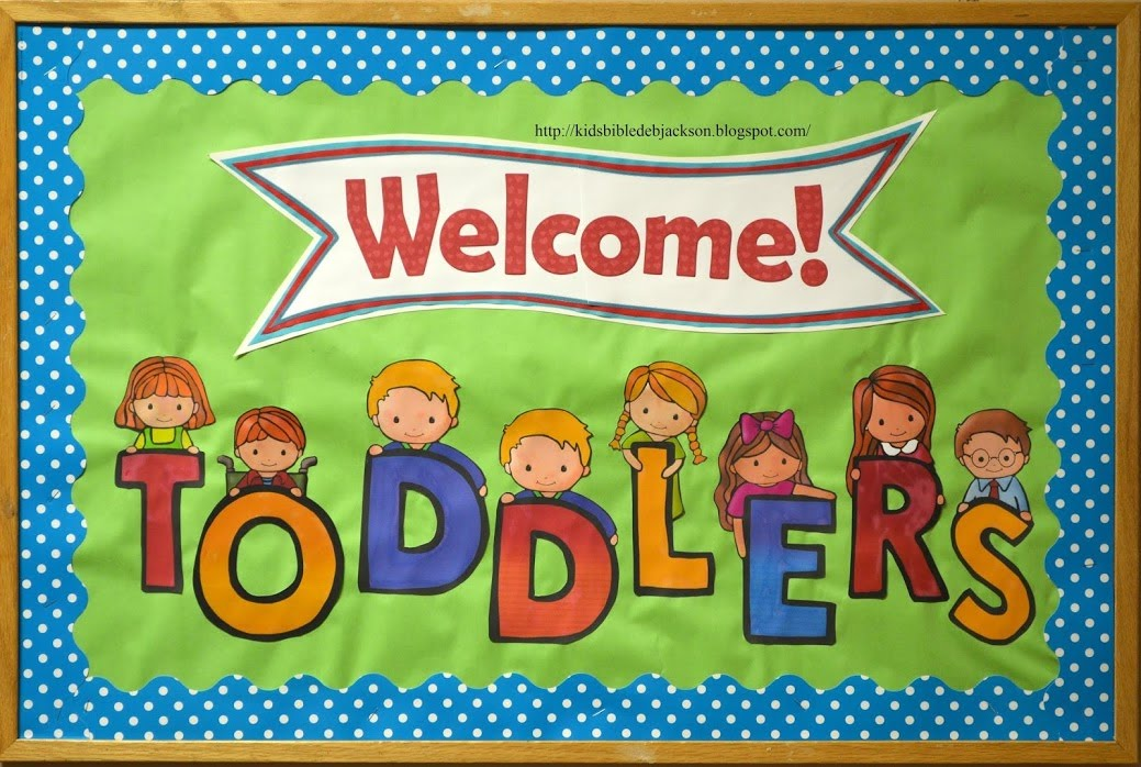 Classroom Ideas Toddlers ~ Bible fun for kids bulletin boards