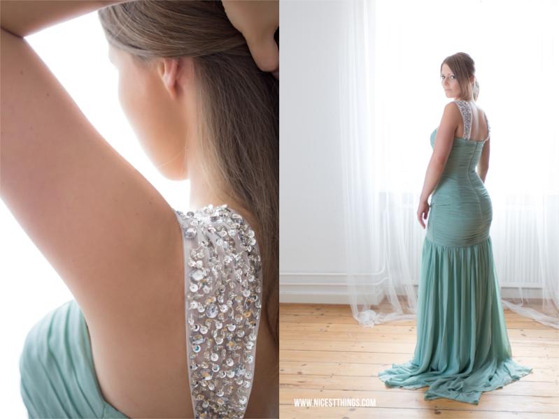 Brombeere 36 Gr Herzhaft Kleid Abendkleid Ballkleid Empire Mit Stola