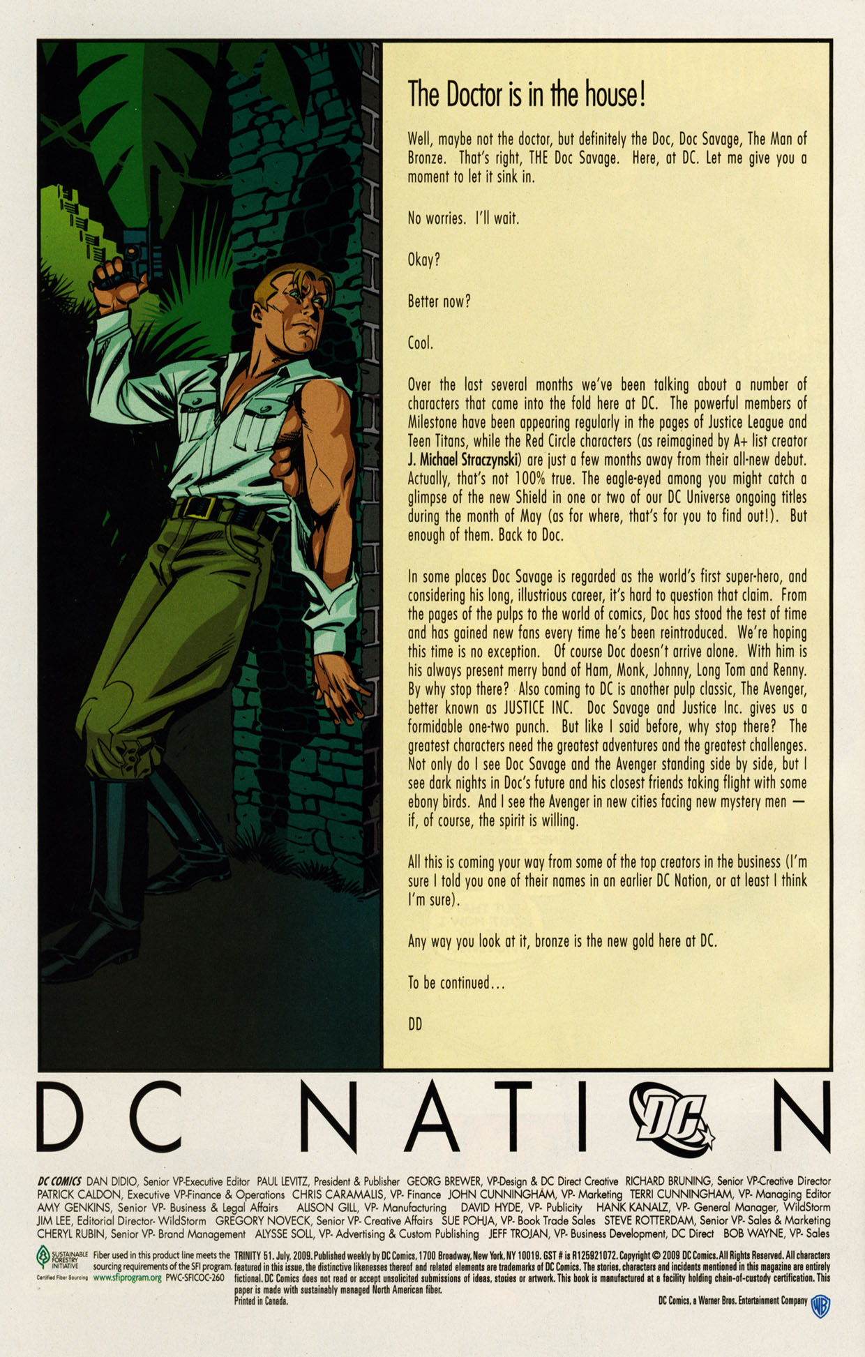Read online Trinity (2008) comic -  Issue #51 - 29