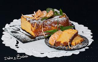 Pastel Libanés de Mandarina