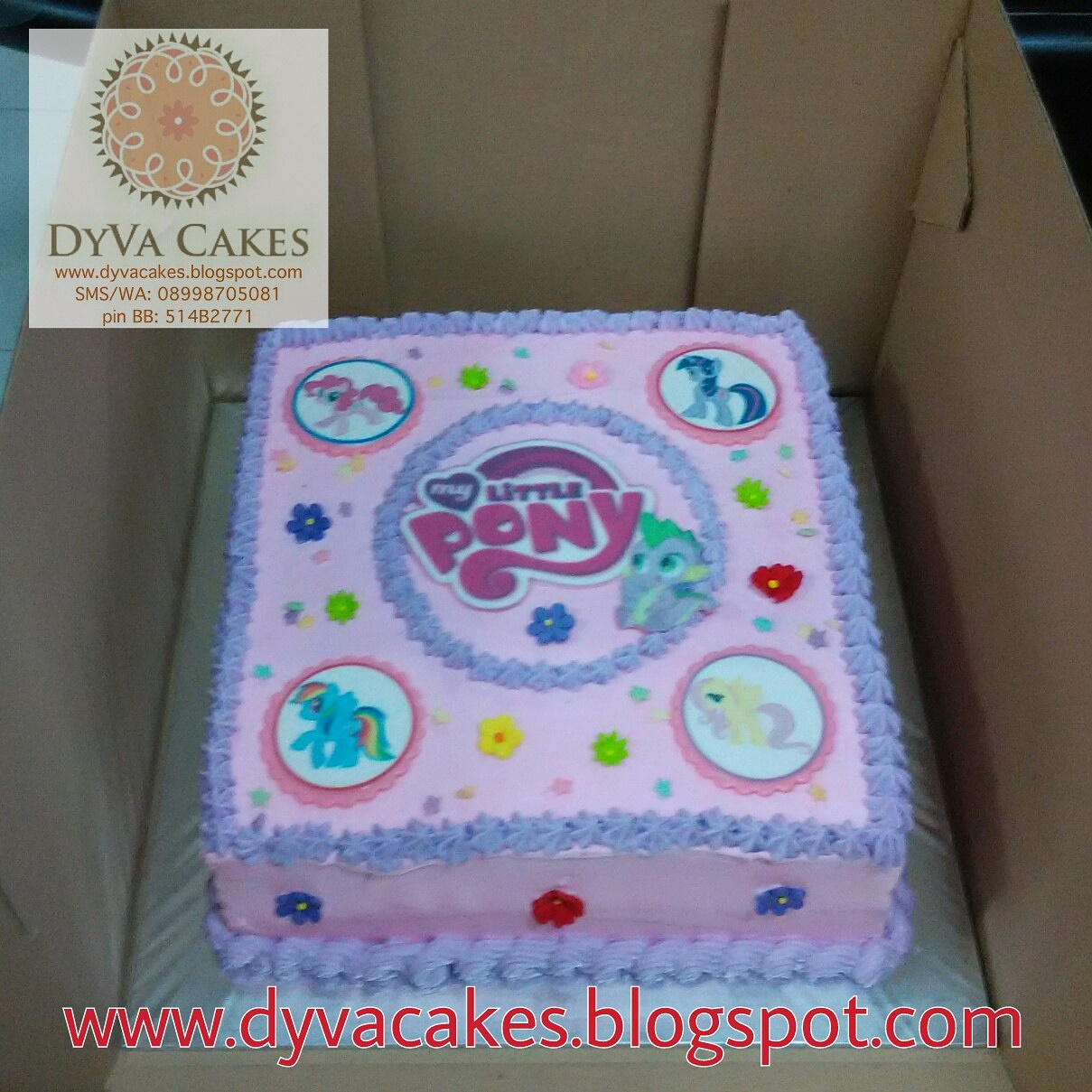 Dyva Cakes My Little Pony Buttercream Cake