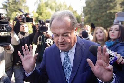 pártfinanszírozás, Vasile Blaga, Románia, korrupció, DNA,