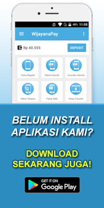 Download Aplikasi Android WijayanaPay