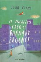 El Increíble Caso De Barnaby Brocket, de John Boyne